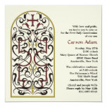 Cathedral Window Religious Invitation