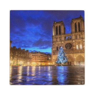 Cathédrale Notre-Dame de Paris Wood Coaster