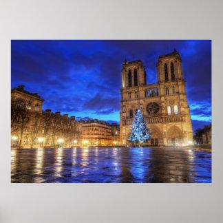 Cathédrale Notre-Dame de Paris Poster