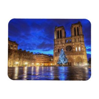 Cathédrale Notre-Dame de Paris Rectangular Photo Magnet