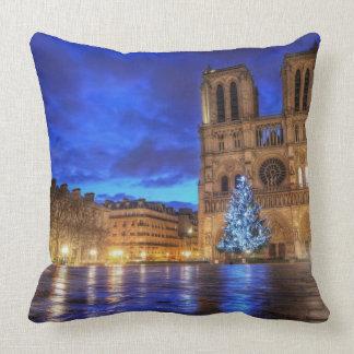 Cathédrale Notre-Dame de Paris Throw Cushion