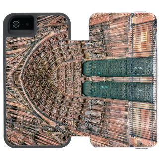 Cathedrale Notre-Dame, Strasbourg, France Incipio Watson™ iPhone 5 Wallet Case