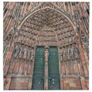 Cathedrale Notre-Dame, Strasbourg, France Napkin
