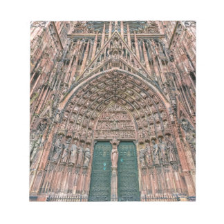 Cathedrale Notre-Dame, Strasbourg, France Notepad