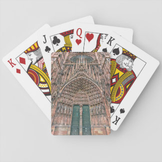 Cathedrale Notre-Dame, Strasbourg, France Playing Cards