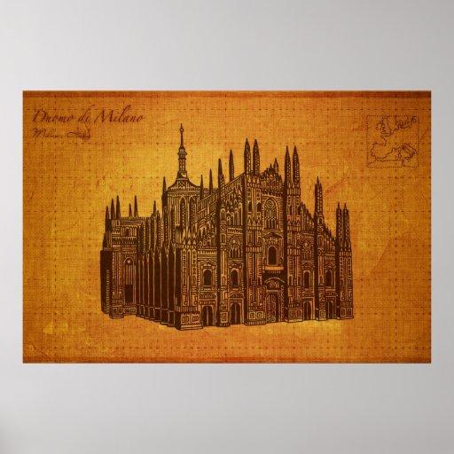 Cathedrals: Duomo di Milano, Milan Poster