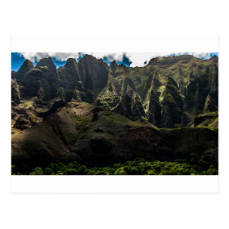 Cathedrals - Na Pali Coast - Kauai, Hawaii Postcard