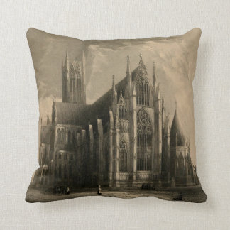 Cathedrals of England: Lincoln 1836 Pillow