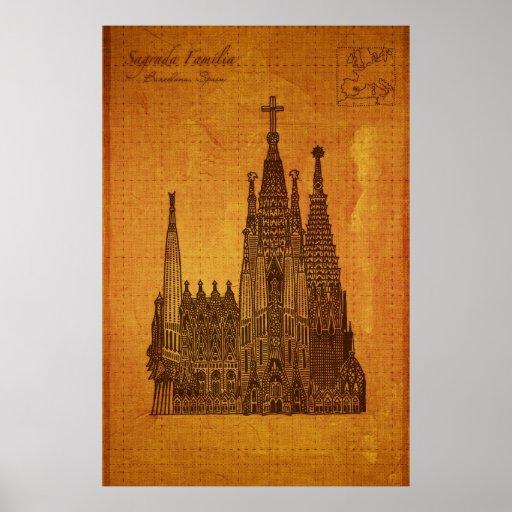 Cathedrals: Sagrada Fam�lia, Barcelona Poster