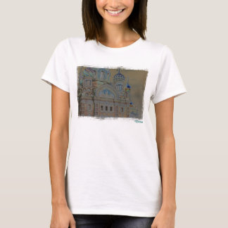 Cathendral St Petersburg, Russian  T-Shirt