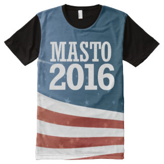 Catherine Cortez Masto 2016 All-Over Print T-Shirt