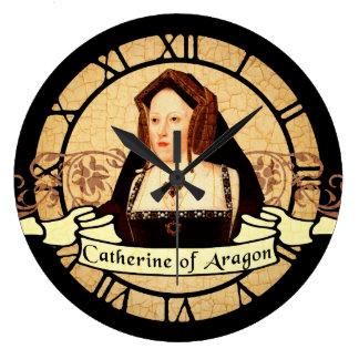 Catherine Of Aragon Large Clock