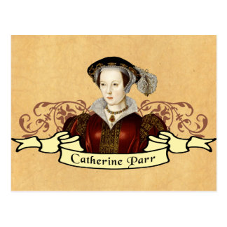Catherine Parr Postcard