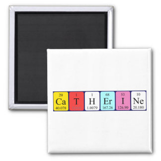 Catherine periodic table name magnet