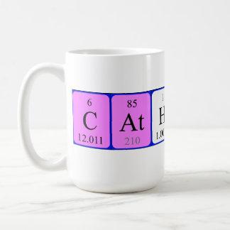 Catherine periodic table name mug