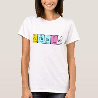 Catherine periodic table name shirt