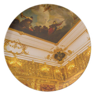 Catherine's Great Palace Tsarskoye Selo Amber Room Dinner Plate