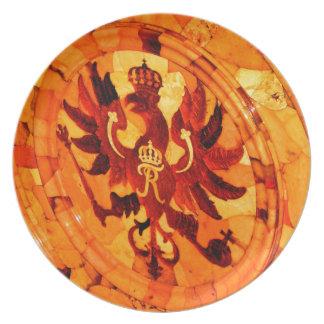 Catherine's Great Palace Tsarskoye Selo Amber Room Plate