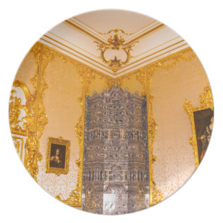 Catherine's Great Palace Tsarskoye Selo Amber Room Plate