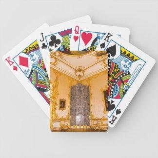Catherine's Great Palace Tsarskoye Selo Amber Room Poker Deck
