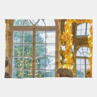 Catherine's Great Palace Tsarskoye Selo Ball Room Tea Towel