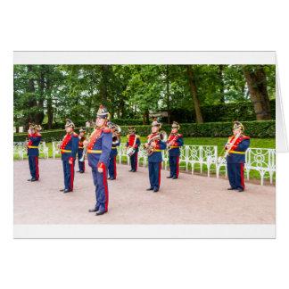 Catherine's Great Palace Tsarskoye Selo Brass Band Card