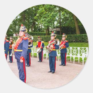 Catherine's Great Palace Tsarskoye Selo Brass Band Classic Round Sticker