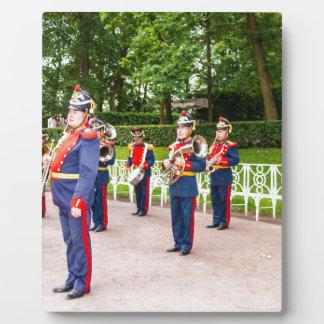 Catherine's Great Palace Tsarskoye Selo Brass Band Display Plaque