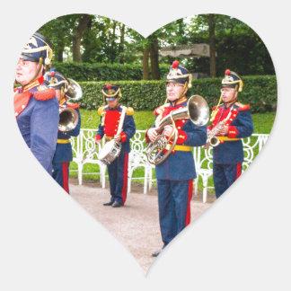 Catherine's Great Palace Tsarskoye Selo Brass Band Heart Sticker