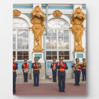 Catherine's Great Palace Tsarskoye Selo Brass Band Photo Plaque