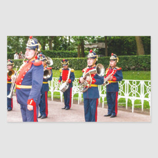 Catherine's Great Palace Tsarskoye Selo Brass Band Rectangular Sticker
