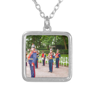 Catherine's Great Palace Tsarskoye Selo Brass Band Silver Plated Necklace