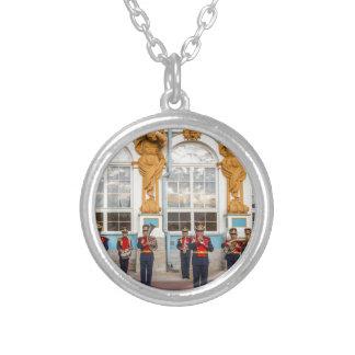 Catherine's Great Palace Tsarskoye Selo Brass Band Silver Plated Necklace