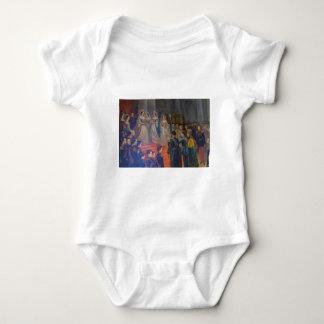 Catherine's Great Palace Tsarskoye Selo Painting Baby Bodysuit
