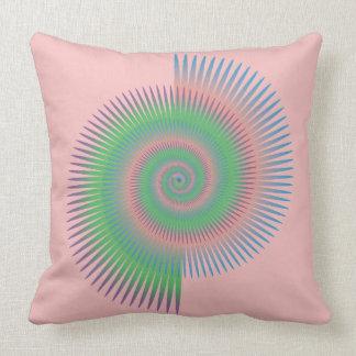Catherine Wheel Spiral Cushion