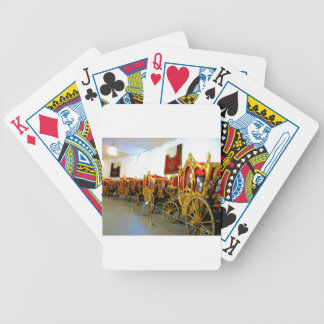 Catherine's Palace Russia Carriage House Bicycle Playing Cards
