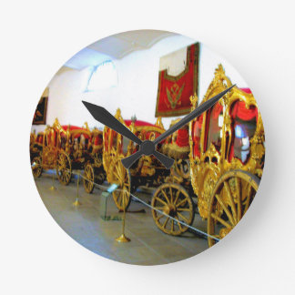 Catherine's Palace Russia Carriage House Round Clock