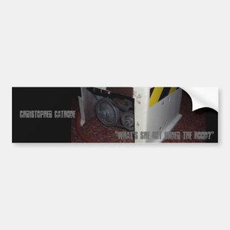 "Cathode/PE-7 sticker ""Gas Pirates"" Bumper Sticker"