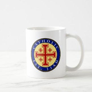 CATHOLIC BASIC WHITE MUG