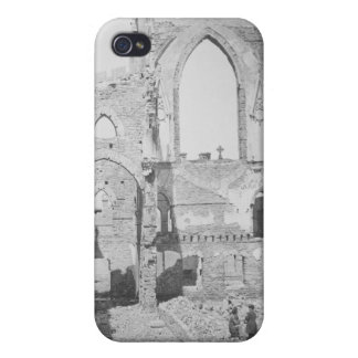 Catholic Cathedral Ruins During Civil War, 1865 Case For iPhone 4