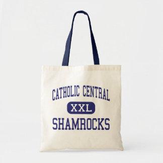 Catholic Central - Shamrocks - High - Novi Canvas Bag