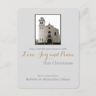 Catholic christmas cards zazzle au catholic church christmas greeting holiday card m4hsunfo