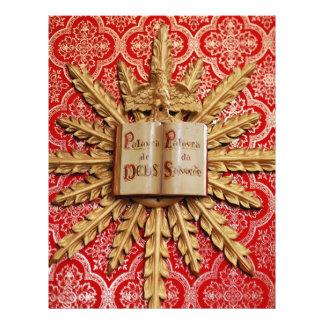Catholic church decorations 21.5 cm x 28 cm flyer