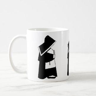 Catholic Church Nun in Habit Religious Basic White Mug