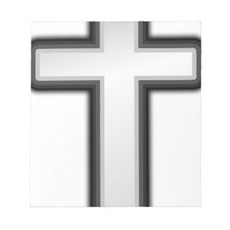 Catholic Cross Notepad
