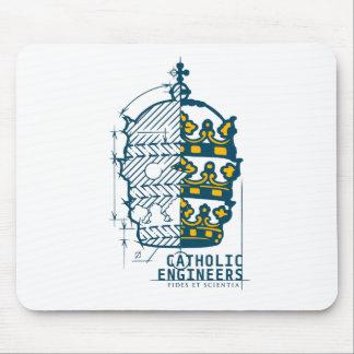 Catholic Engineers Logo- Mouse Pad