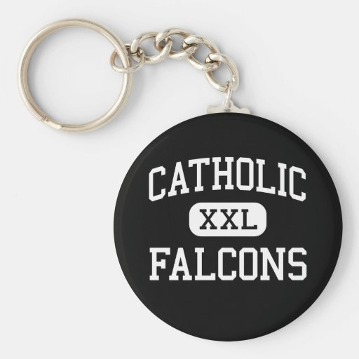 Catholic - Falcons - High - Huntsville Alabama Keychain