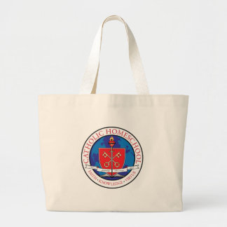 Catholic Homeschool Crest Tote Bags