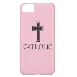 Catholic in Pink Cover For iPhone 5C