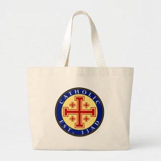 CATHOLIC JUMBO TOTE BAG